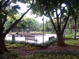 But the park still empty